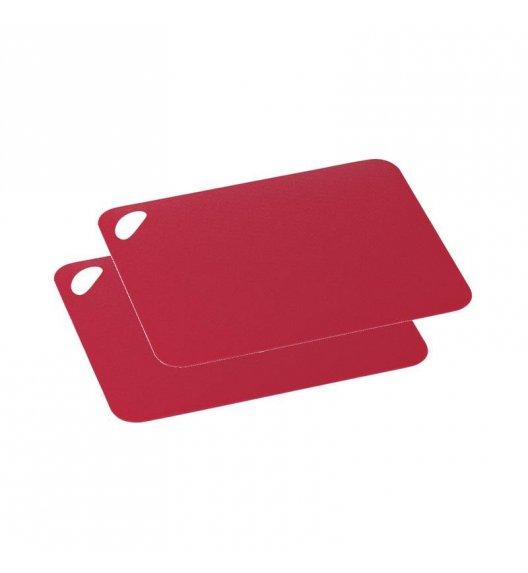 ZASSENHAUS Zestaw 2 elastycznych desek do krojenia 29 x 19 cm, czerwona / FreeForm