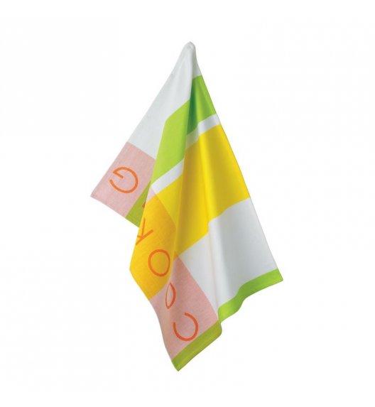 KELA Ściereczka kuchenna MADLENE 70 x 50 cm, żółto-zielona / FreeForm