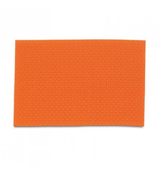 KELA Podkładka na stół PLATO 45 x 30 cm pomarańczowa / FreeForm