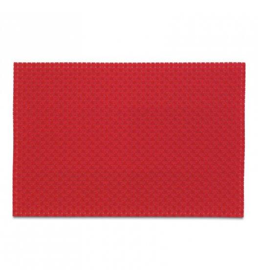 KELA Podkładka na stół PLATO 45 x 30 cm czerwona / FreeForm
