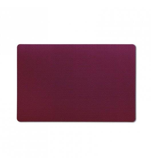 KELA Podkładka na stół CALINA 43,5 x 28,5 cm ciemnoczerwona / FreeForm