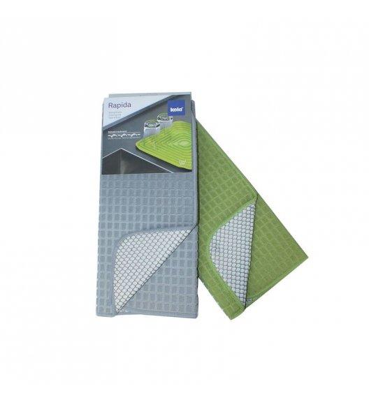 KELA Mata do suszenia naczyń 50 x 38 cm, zielona / FreeForm