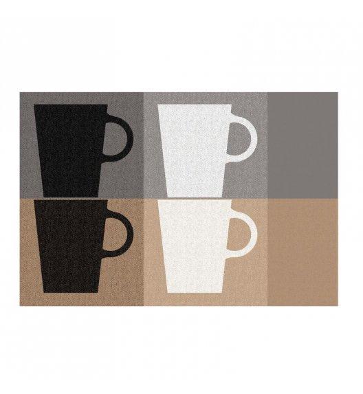 KELA Podkładka na stół TABEA CUPS 43,5 x 28,5 cm szaro-beżowa / FreeForm