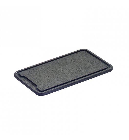 ZASSENHAUS Deska do krojenia z tworzywa sztucznego 36 × 23 × 1,5 cm, antracytowa / FreeForm