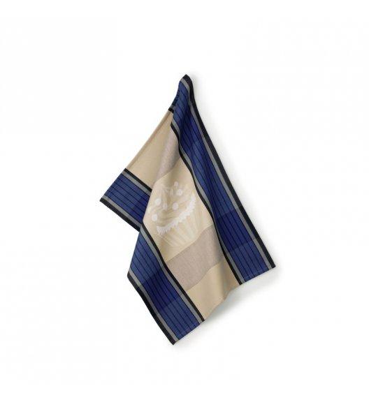 KELA Ściereczka kuchenna FRIDA 70 x 50 cm, niebieska / FreeForm