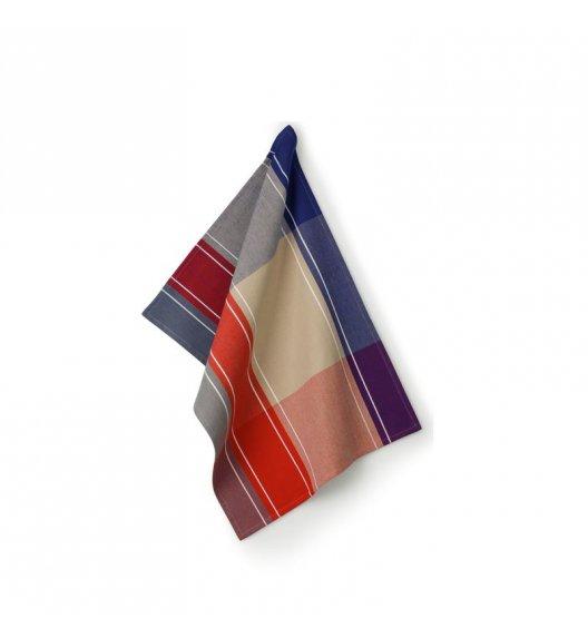 KELA Ściereczka kuchenna FRIDA 70 x 50 cm, kolorowe pasy / FreeForm