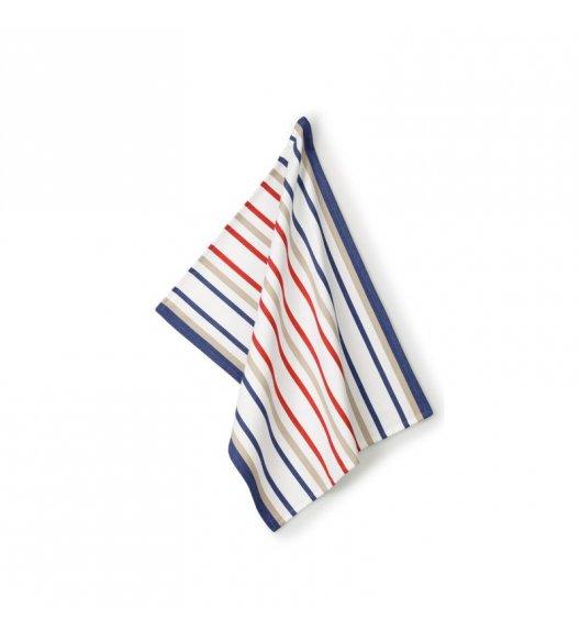 KELA Ściereczka kuchenna FRIDA 70 x 50 cm, cienkie paski / FreeForm