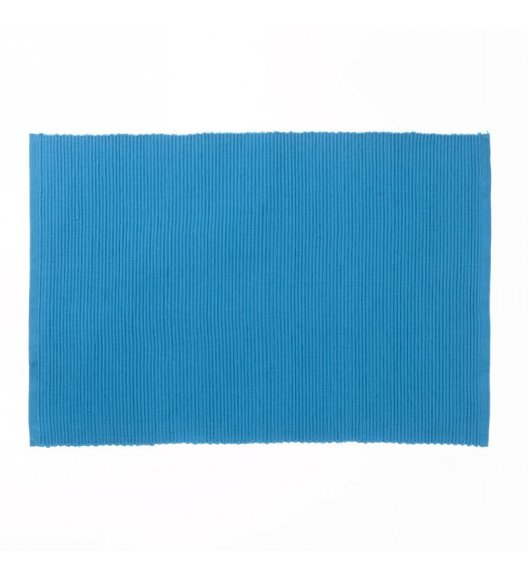KELA Bawełniana podkładka na stół PUR 48 x 33 cm, niebieska / FreeForm