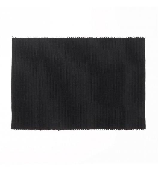 KELA Bawełniana podkładka na stół PUR 48 x 33 cm, czarna / FreeForm