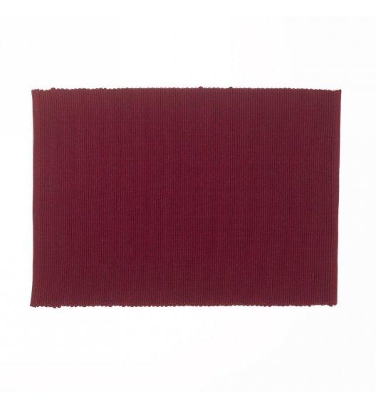 KELA Bawełniana podkładka na stół PUR 48 x 33 cm, bordowa / FreeForm