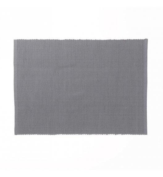 KELA Bawełniana podkładka na stół PUR 48 x 33 cm, szara / FreeForm