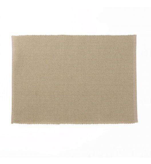 KELA Bawełniana podkładka na stół PUR 48 x 33 cm, kremowa / FreeForm