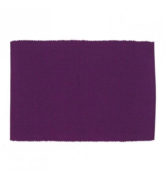 KELA Bawełniana podkładka na stół PUR 48 x 33 cm, fioletowa / FreeForm