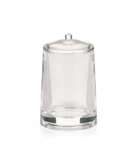 KELA Akrylowy pojemnik na płatki kosmetyczne SINFONIE z pokrywką / FreeForm