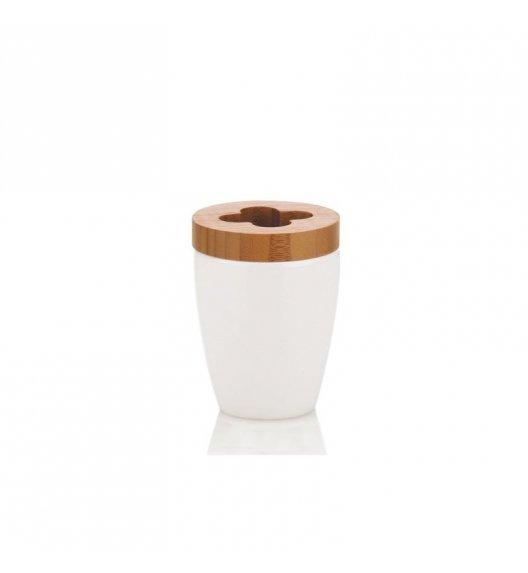KELA Ceramiczny stojak na szczoteczki do zębów NATURA / FreeForm