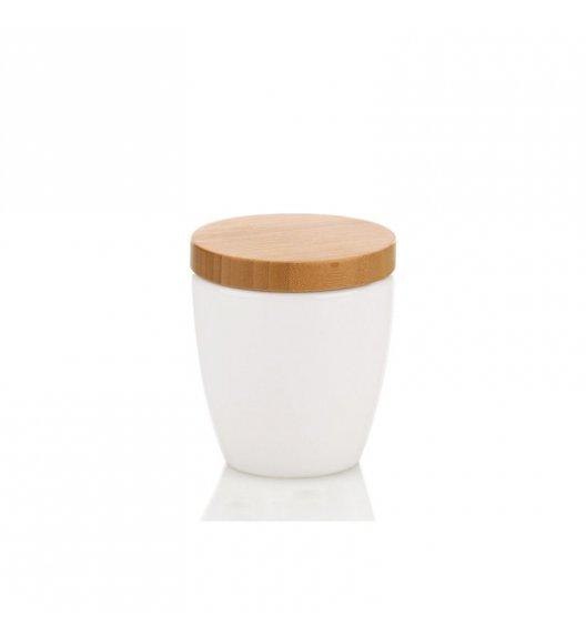 KELA Ceramiczny pojemnik na płatki kosmetyczne NATURA / FreeForm