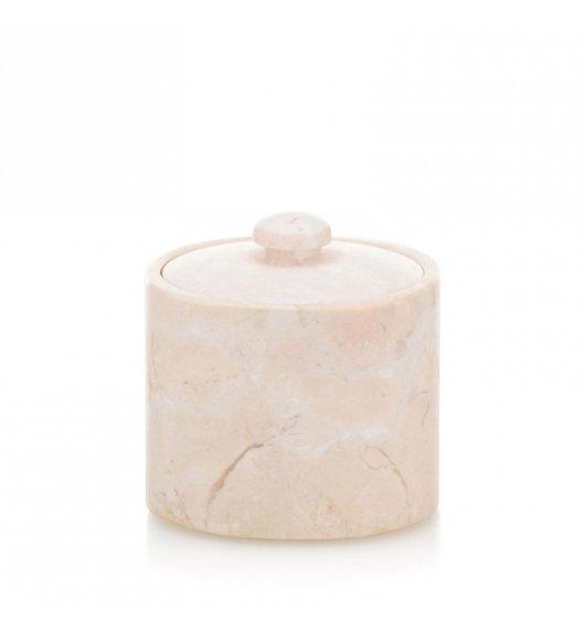 KELA Marmurowy pojemnik na płatki kosmetyczne MARBLE marmur karraryjski / FreeForm