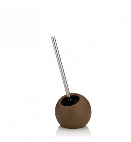 KELA Ceramiczny zestaw toaletowy MARA brązowy / FreeForm