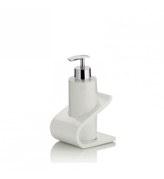 KELA Dozownik na mydło w płynie LIAM biały / FreeForm