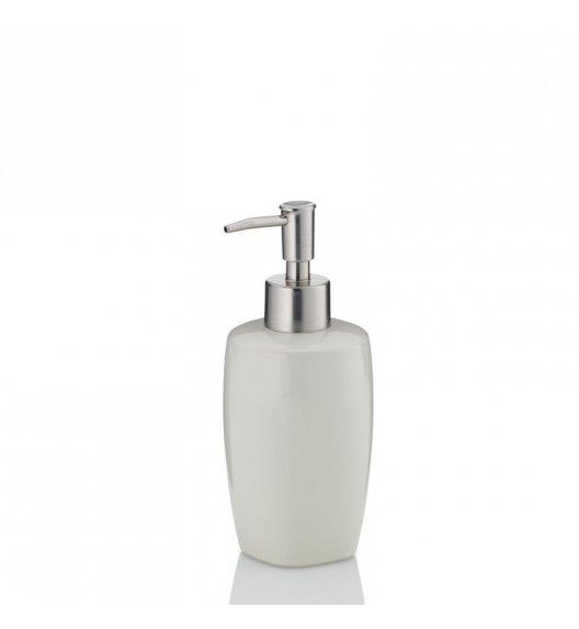 KELA Ceramiczny dozownik na mydło w płynie LANDORA kremowy / FreeForm