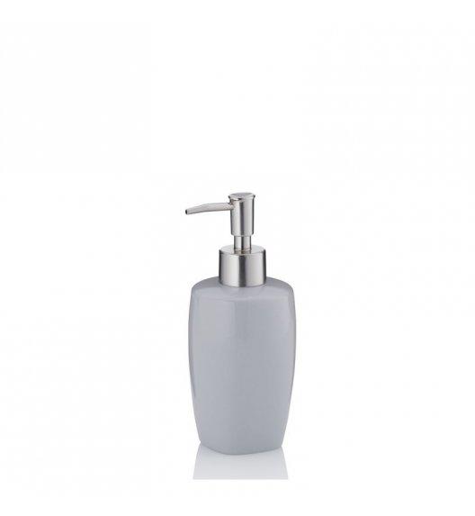 KELA Ceramiczny dozownik na mydło w płynie LANDORA szary / FreeForm