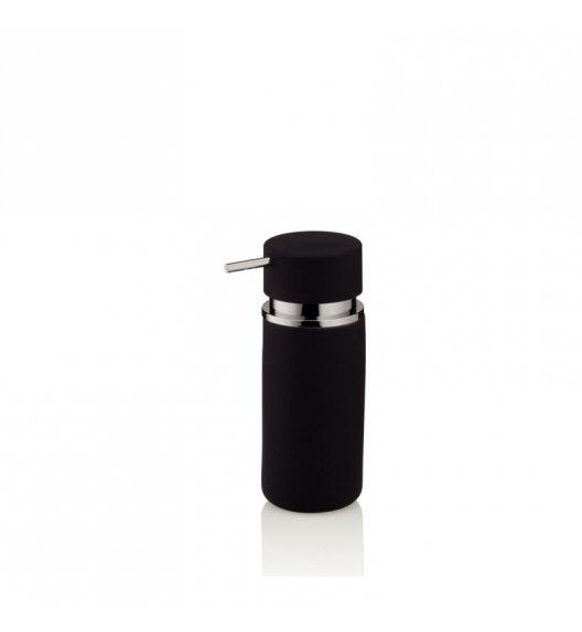 KELA Ceramiczny dozownik na mydło w płynie PER czarny / FreeForm