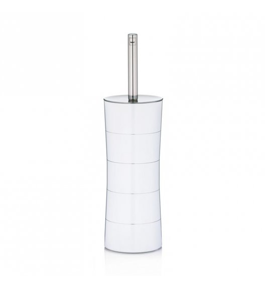 KELA Stalowy zestaw toaletowy AMINA biały / FreeForm