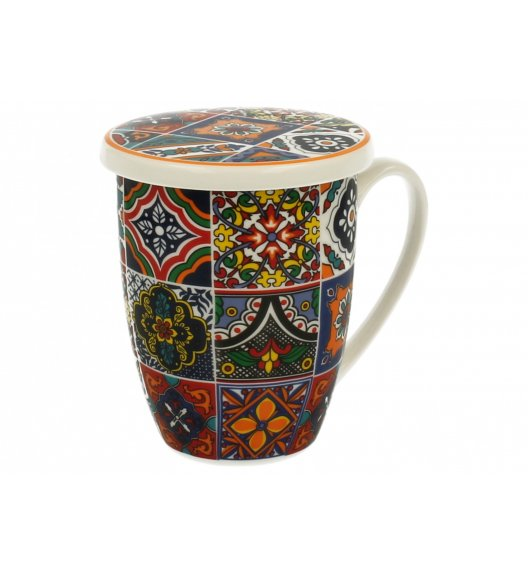 DUO RABAT Kubek z zaparzaczem 320 ml / Porcelana