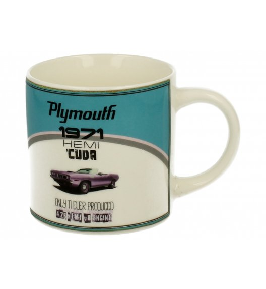 DUO RETRO CAR A Kubek 430 ml / Porcelana