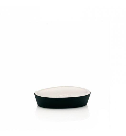 KELA Ceramiczna mydelniczka POLLUX czarna / FreeForm
