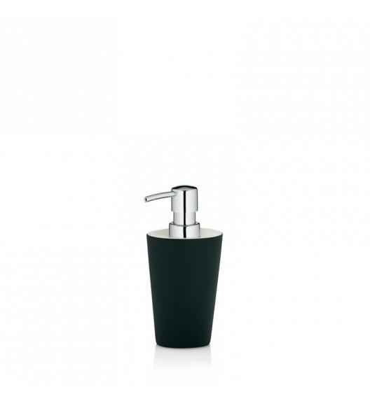 KELA Ceramiczny dozownik na mydło w płynie POLLUX czarny / FreeForm