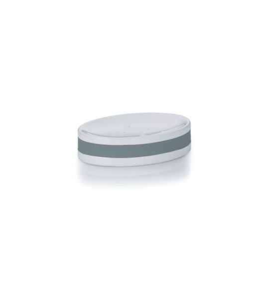 KELA Ceramiczna mydelniczka LALETTA szara / FreeForm