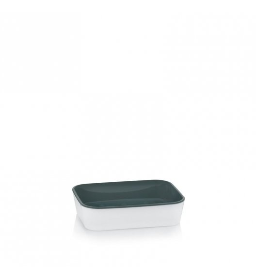 KELA Mydelniczka na mydło w kostce NURIA biała / FreeForm