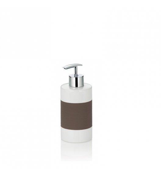 KELA Ceramiczny dozownik na mydło LALETTA szarobrązowy / FreeForm