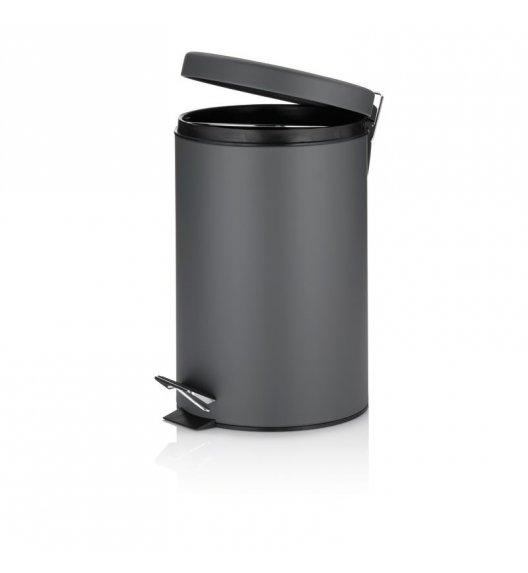 KELA Kosz na śmieci otwierany pedałem TIMON ciemnoszary 12,0 l / FreeForm