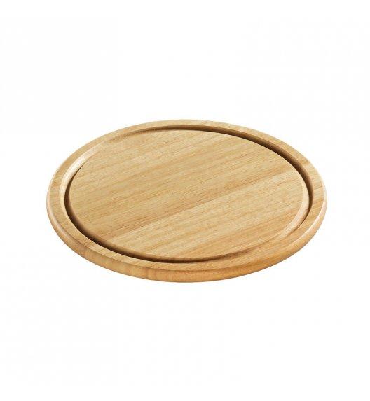 ZASSENHAUS Okrągła deska do krojenia z drewna kauczukowego ⌀ 25 / FreeForm