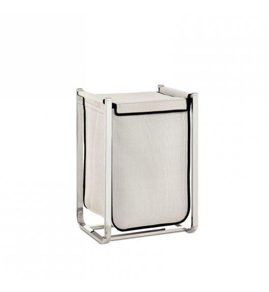 KELA Kosz na pranie na stelażu metalowym LORIN biały / FreeForm