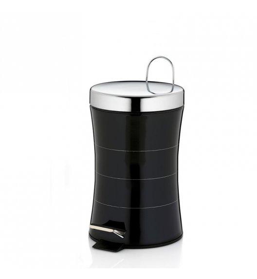 KELA Kosz na śmieci otwierany pedałem IMARA czarny 3,0 l / FreeForm