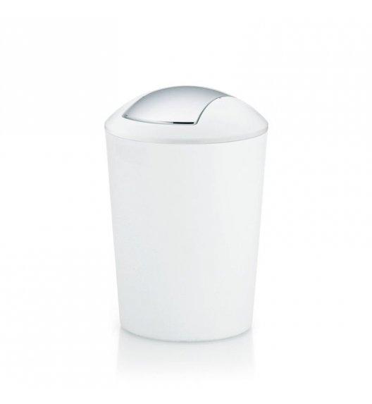KELA Łazienkowy kosz na śmieci MARTA biały 5,0 l / FreeForm