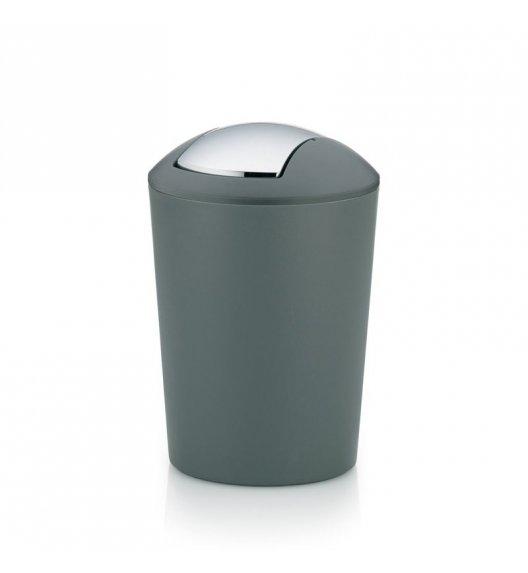KELA MARTA Łazienkowy kosz na śmieci szary 5,0 l / FreeForm
