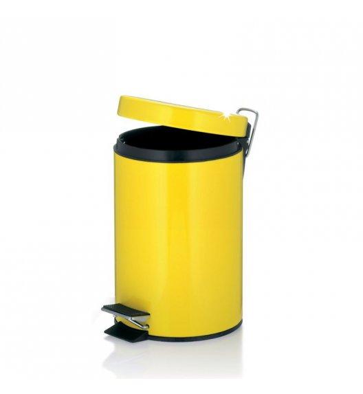 KELA Kosz na śmieci otwierany pedałem AMARELO żółty 3,0 l / FreeForm