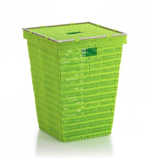 KELA Kosz z tworzywa PP na pranie NOBLESSE zielony / FreeForm