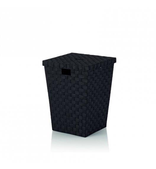 KELA Kosz z tworzywa sztucznego na pranie ALVARO czarny / FreeForm