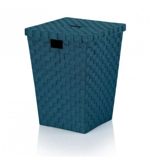 KELA Kosz z tworzywa sztucznego na pranie ALVARO niebieski / FreeForm