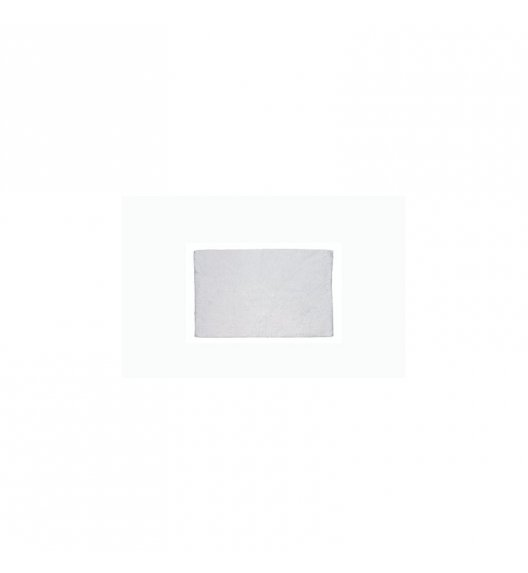 KELA Bawełniana mata łazienkowa LADESSA UNI białoszara 65 × 55 cm / FreeForm