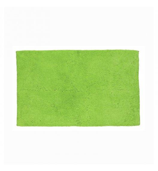 KELA Bawełniana mata łazienkowa LADESSA UNI zielona 120 × 70 cm / FreeForm