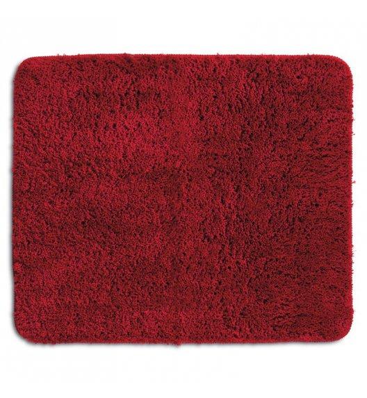 KELA Mata łazienkowa LIVANA czerwona 65 × 55 cm / FreeForm