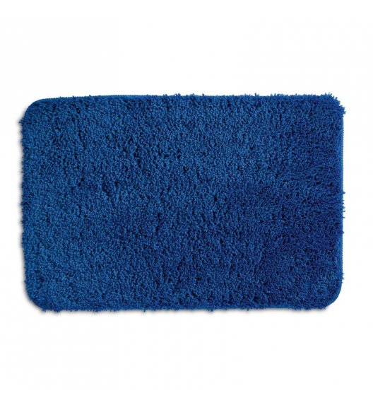 KELA Mata łazienkowa LIVANA niebieska 65 × 55 cm / FreeForm