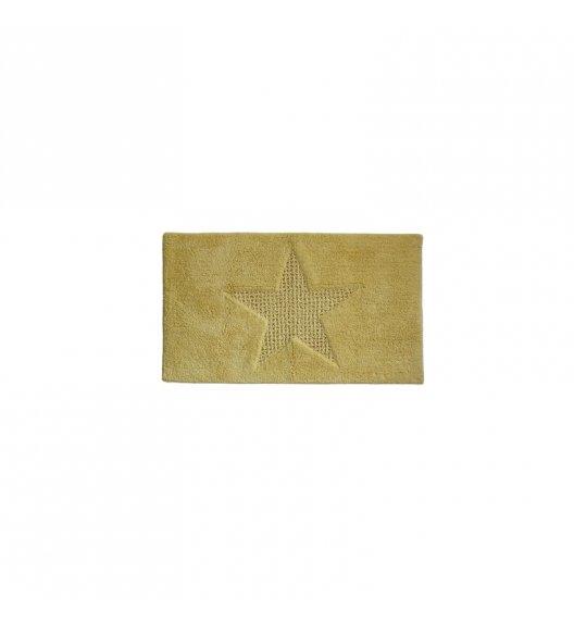 KELA Bawełniana mata łazienkowa LINDANO żółta 65 × 55 cm / FreeForm
