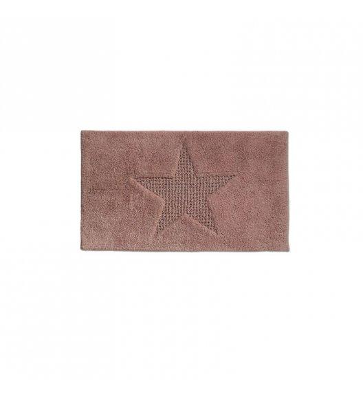 KELA Bawełniana mata łazienkowa LINDANO brązowa 100 × 60 cm / FreeForm